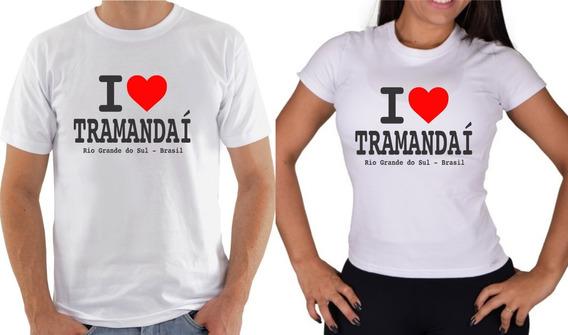 Camiseta I Love Tramandaí