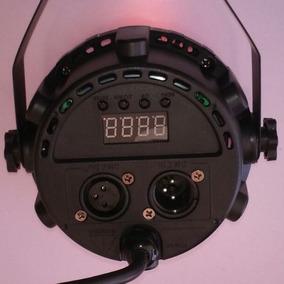 2 Refletor Led Par 24 Ah-2079 Rgb Dmx Ah Lights