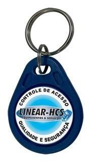 Linear Chaveiro Lf 125 Khz Azul - Kit 20 Peças