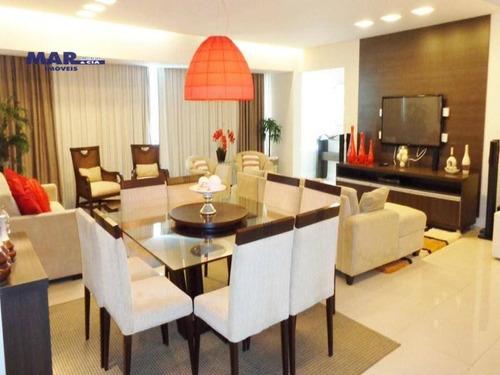 Imagem 1 de 9 de Apartamento Residencial À Venda, Centro, Guarujá - . - Ap8211