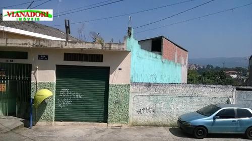 Imagem 1 de 22 de Casa Residencial Com Salão Comercial À Venda, Jardim Palmira, Guarulhos. - Ca0162