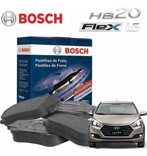 Pastilha Freio Original Bosch Hb20 1.6 Flex 2012 A 2017 2018