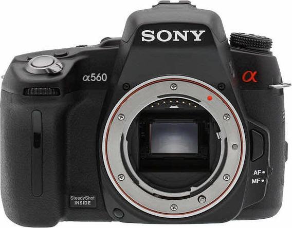Câmera Dslr Sony 560