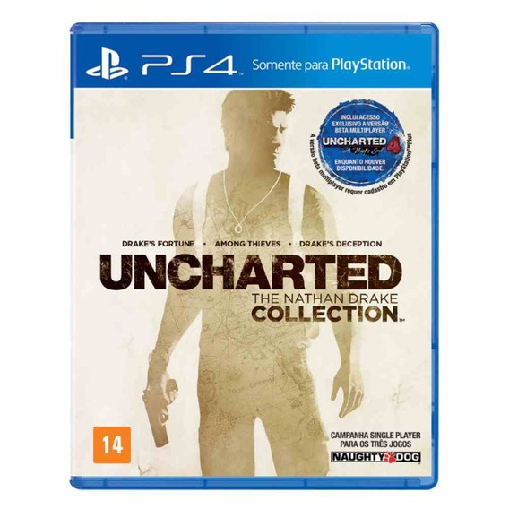 Game Uncharted The Nathan Drake Collection Ps4