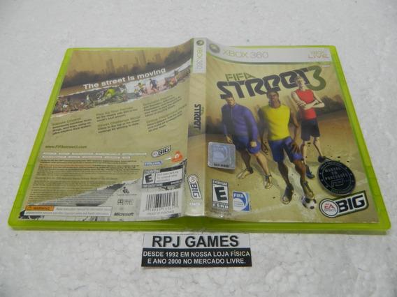 Fifa Street 3 Original Midia Fisica Completa Xbox 360 - Loja