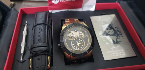 Relógio Technos Lendas Do Podium Emerson Fittipaldi Masculin