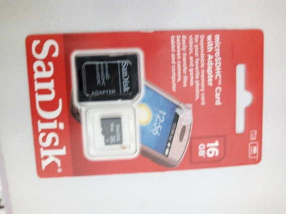 Cartao Sd Sandisk Original 16gb