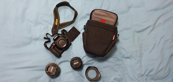 Câmera Nikon D5500 + Lente Nikon 18-55mm + Yongnuo 50mm 1.8