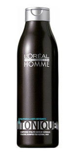 Loreal Homme Tonique Shampoo Vitalidad 250ml