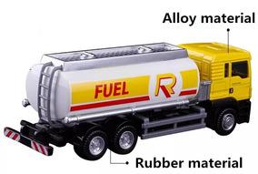 Caminhão Combustível Fuel Escala 1: 64 Metal Pronta Entrega