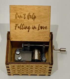 Caja Musical Cant Help Falling In Love Elvis Presley
