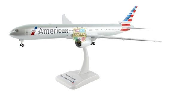 Boeing 777-300er American 1:200 Hogan C/t De Pouso E Radome