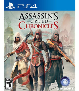 Assassins Creed Chronicles Ps4 - Juego Fisico - Prophone