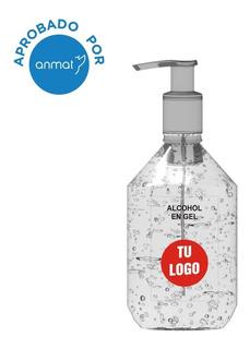 Alcohol En Gel Personalizado Con Tu Logo 50 Unidades 500ml