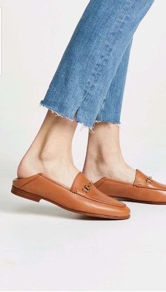 Slipper Zapatos Mujer Chatitas Importados Todos En Cuero Exc