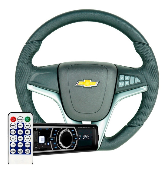 Kit Gm Direção Astra 2004 2005 2006 Radio Automotivo Mp3 Som