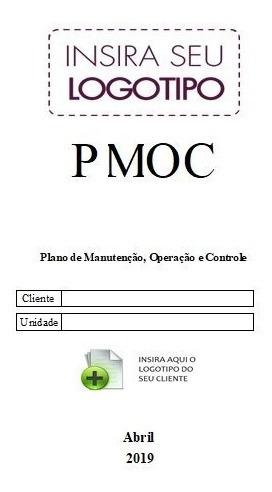 Planilha Pmoc - Com Capa E Plano De Manutenção Split