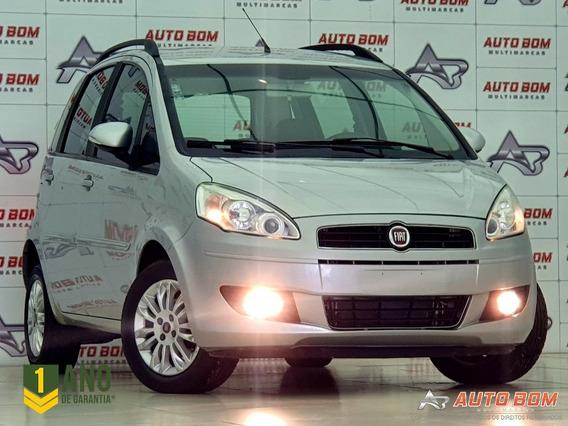 Fiat Idea Attractive 1.4 8v Impecável Som Original Fiat 2012