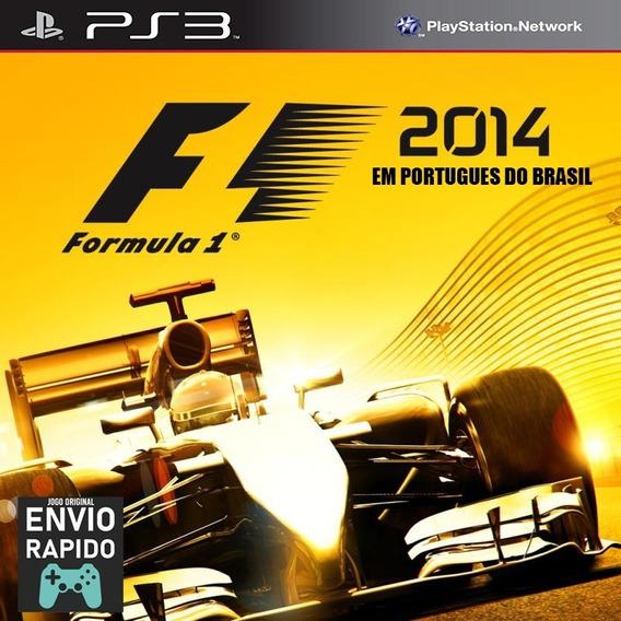 Formula 1 F1 2014 Em Português Do Br - Jogos Ps3 Original