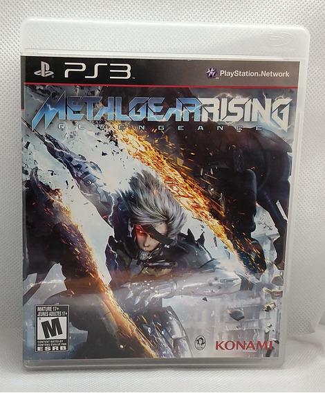 Metal Gear Rising Revengeance Ps 3 Midia Fisica