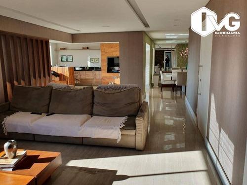 Imagem 1 de 18 de Apartamento À Venda, 182 M² Por R$ 1.500.000,01 - Vila Rosália - Guarulhos/sp - Ap2455