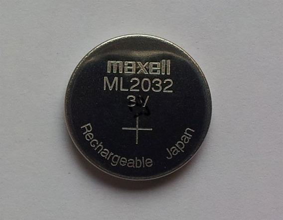 Bateria Pilha Maxell Ml2032 3v Recarregável Pronta Entrega