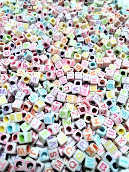 1000 Cubo Color Letras Del Alfabeto Pulseras Y Manualidades