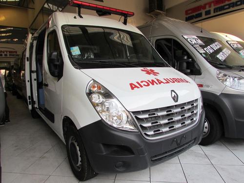Master Ambulância L2h2 2021