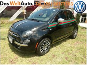 Fiat 500 Gucci, Rines, Quemacocos, Piel, Electrico, 2013