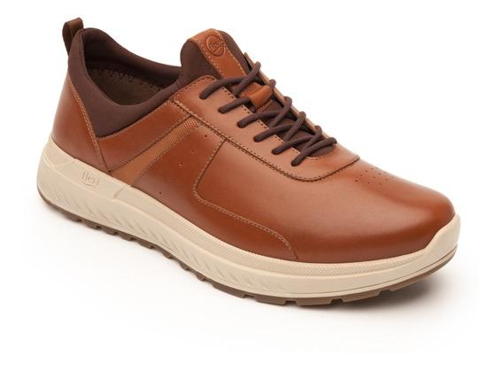 Sneaker Urbano Flexi Caballero 403001 Tan