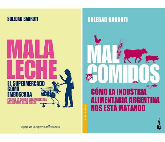 Pack Mala Leche + Mal Comidos - Barruti Soledad