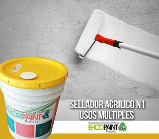 Sellador N1 Vinil Acrilico Int. Ext.