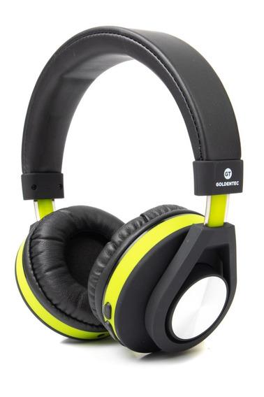 Headphone Bluetooth Gt Follow Goldentec Verde (gt5btvd)