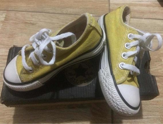 Zapatos Converse Para Niños-talla 25