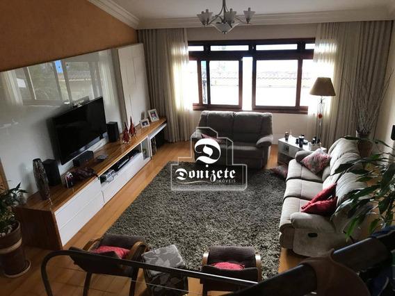 Casa Com 3 Dormitórios À Venda, 244 M² Por R$ 1.272.000,00 - Vila Pires - Santo André/sp - Ca0935