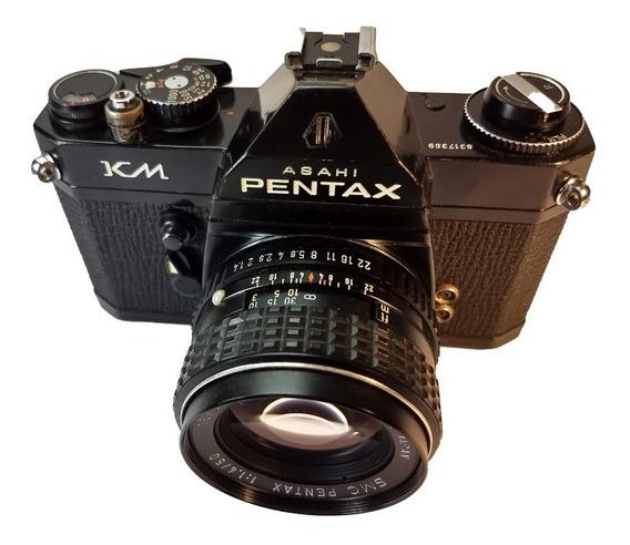 Câmera Fotográfica Analógica Pentax Km