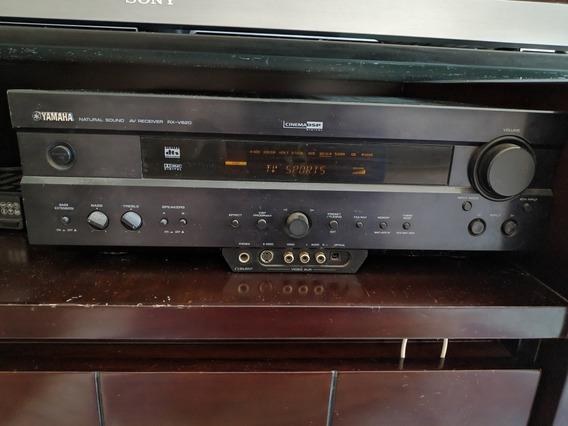 Receyver Yamaha 5.1 +2 Caixas Philips