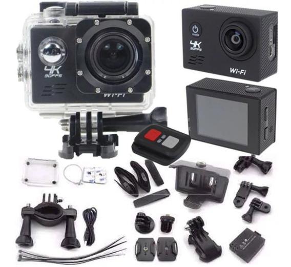 Câmera 4k Sports Controle Remoto Wifi 16mp 120fps Filmadora