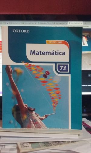 Projeto Lume Matematica - 7 Ano Oxford