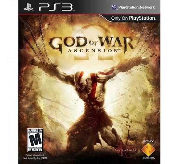 God Of War Ascession Ps3 Mídia Física