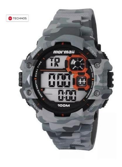 Relógio Mormaii Pro Army Camuflado 100m Original Technos Nfe