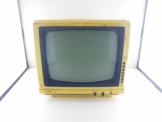 Tv Antiga Philips - Com Defeito