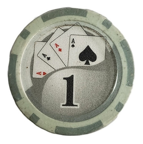 Imagen 1 de 7 de Tubo 25 Fichas De Poker Numeradas X 11.5grs