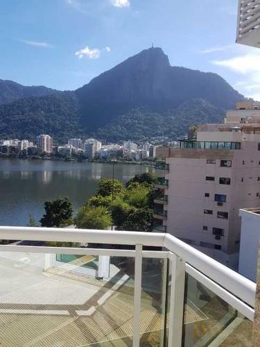 Imagem 1 de 15 de Apartamento-à Venda-lagoa-rio De Janeiro - Boap30075