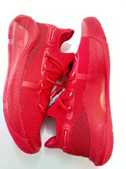 Curry 6 Rojo Sc Under Armour Basketball