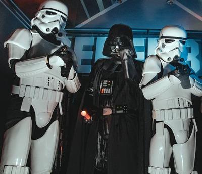 Star Wars Casamientos Show Infantil 15 Años Fiestas Eventos