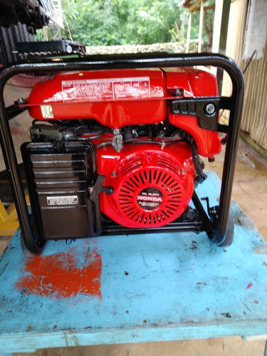 Planta Electrica Usada Honda 6500hp