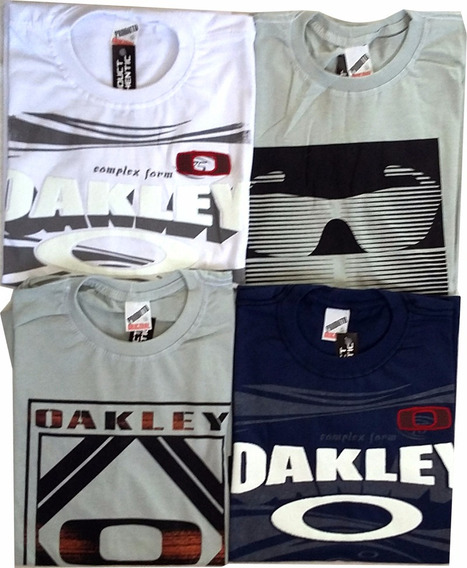 Kit 4 Camisetas Oakley G