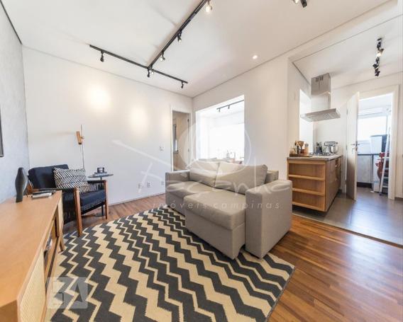 Apartamento Para Venda No Cambuí Em Campinas - Imobiliária Em Campinas - Ap03594 - 67752618
