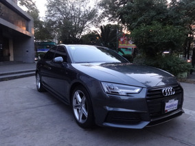 Audi A4 4p S Line 2.0t,190hp,dsg,tela/piel,f.led,ra18